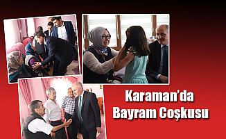 Karaman'da Bayram Coşkusu