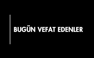KARAMAN'DA BUGÜN VEFAT EDENLER - 15.09.2018