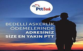 PTT Bedelli Askerlik Ödemelerini Almaya Devam Ediyor