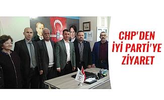 CHP'DEN İYİ PARTİ'YE  ZİYARET