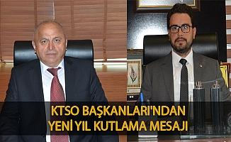 KTSO BAŞKANLARI'NDAN YENİ YIL KUTLAMA MESAJI.