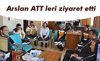 Arslan ATT leri ziyaret etti