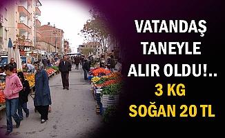 VATANDAŞ TANEYLE ALIR OLDU!..
