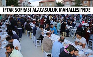 İFTAR SOFRASI ALACASULUK MAHALLESİ'NDE
