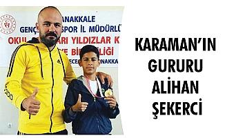 KARAMAN'IN GURURU ALİHAN ŞEKERCİ