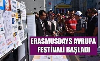ERASMUSDAYS AVRUPA FESTİVALİ BAŞLADI