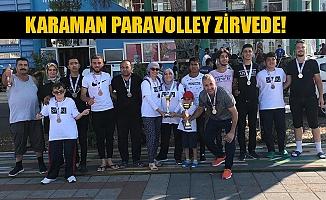 KARAMAN PARAVOLLEY ZİRVEDE!