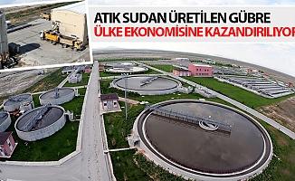 Atık Sudan Üretilen Gübre Ülke Ekonomisine Kazandırılıyor