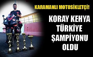 KARAMANLI MOTOSİKLETÇİ!
