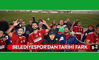 BELEDİYESPOR'DAN TARİHİ FARK
