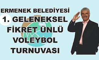 FİKRET ÜNLÜ VOLEYBOL TURNUVASI BUGÜN TAMAMLANIYOR