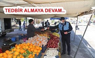 Karaman'da Belediye Maske Dağıttı