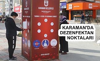 Karaman'da Yoğun Koronavirüs Tedbirleri