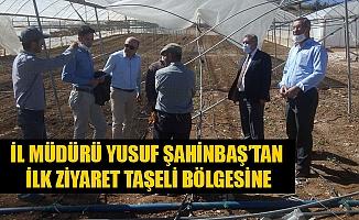 İl Müdürü Yusuf ŞAHİNBAŞ'tan İlk Ziyaret Taşeli Bölgesine