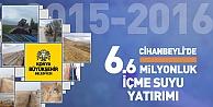 Konya Cihanbeyli'ye 6.6 Milyonluk İçme Suyu Yatırımı Yapıldı