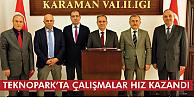 Karaman'da teknopark çalışmaları hızlandı