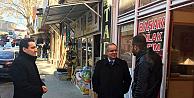 Karaman Valisi Tapsız, esnafları ziyarete devam ediyor