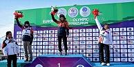 Kayseri Erciyes A.Ş Kayak Kulübü Sporcusundan Tarihi Başarı