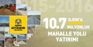 Konya'da yol çalışmaları güzel gidiyor