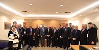 Kosova Belediyeler Birliği'nden Başkan Kadir Topbaş'a Ziyaret