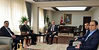 Müsiad'ın Yeni Yönetimi Vali Tapsız'ı Ziyaret Etti