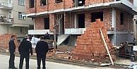 Karaman'da 4. kattan düşen inşaat işçisi öldü