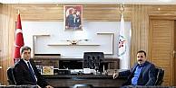 Emniyet Müdürü Tutuk'dan, Kısacık'a ziyaret