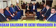 Karaman Belediye Başkanı Ertuğrul Çalışkan'dan Siverek Belediyesine ziyaret