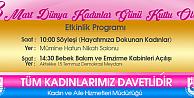 Karaman Belediyesi, 8 Mart Dünya Kadınlar Günü Programı