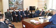 Karaman'da Kuntoğlu'na hayırlı olsun ziyaretinde bulundular