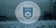 Karaman'da kuvvetli yağış uyarısı var