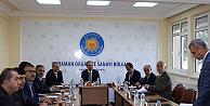 Karaman'da OSB Müteşebbis Heyeti Toplandı