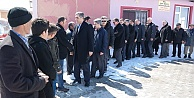 Konuk, Karaman'da Ayrancı ilçesi köylerini ziyaret etti