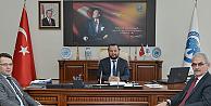 Konya Orman Bölge Müdürü Karacabey, Rektör Akgül'ü Ziyaret Etti