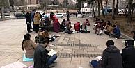 Mardin'de kitap okuma etkinliği