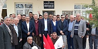 Recep Konuk, Karaman'da köy köy gezerek evet i anlatıyor