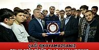 Başkan Akyürek, MTTB'de gençlerle buluştu
