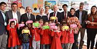 Karaman'da öğrencilere diş macunu ve diş fırçası dağıtıldı