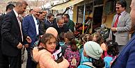 Vali Tapsız'a Karaman Sarıveliler'de coşkulu karşılama