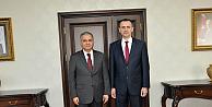 Vali Tapsız'ı makamında ziyaret etti