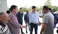 Başkan Menderes Türel, sporcuları ziyaret etti