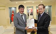 Fransa Ankara Büyükelçisi Ziyaret Etti