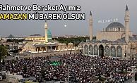 İslam aleminin mübarek Ramazan ayını tebrik etti