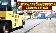 Karaman'da Alparslan Türkeş Bulvarı çalışmaları bitiyor