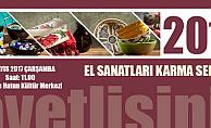 Karaman'da Hanımlar El Sanatları Sergisi açıyor