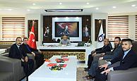 Karaman Ülkü Ocakları, Başkan Çalışkan'ı Ziyaret Etti