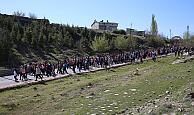 Kayseri'de Sağlıklı Yaşam Yürüyüşlerine Devam