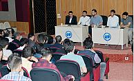 KMÜ de öğrenci panelleri sona erdi
