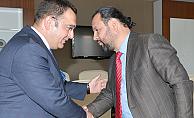 (SGK) Karaman İl Müdürü, Akgül'ü Ziyaret Etti