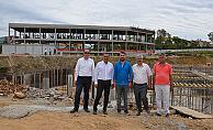 Toptancı Hal Projesi'nin inşaat çalışmaları sürüyor